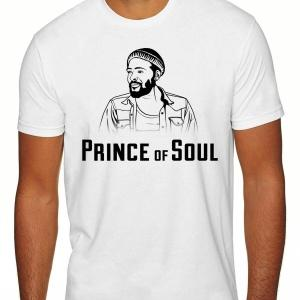 Prince Of Soul White T Shirt