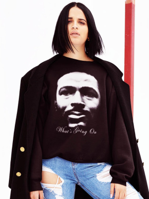 Marvin Gaye What's Going On Black Sweater